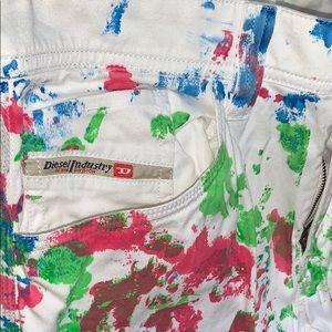 Rare! Diesel men colored jeans size 30